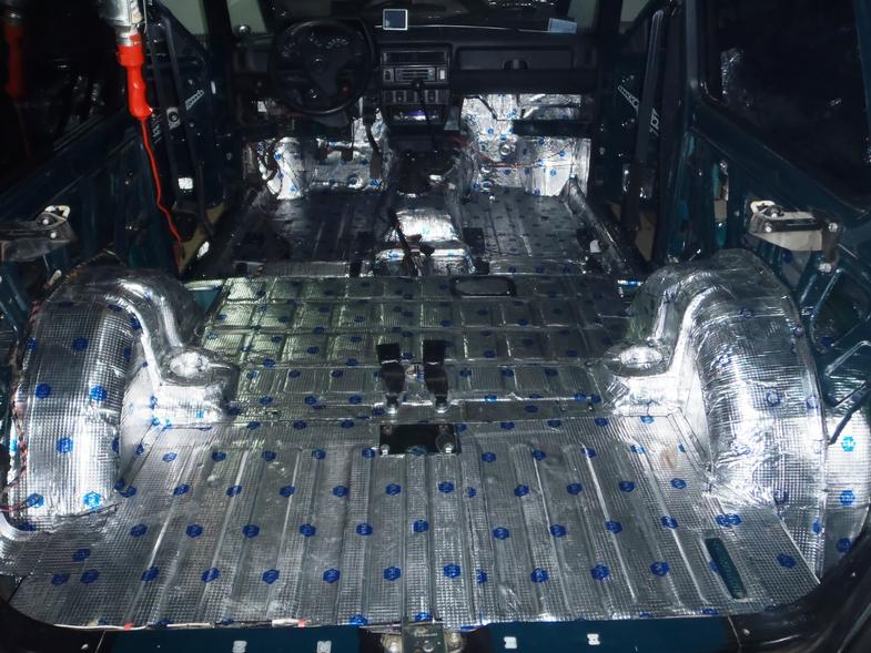 Шумоизоляция автомобиля шевроле нива