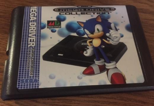 Флеш-картридж  Sega MegaDrive, Genesis, MasterSystem, 32X